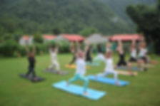 yoga at rishikesh