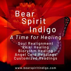 Bear Spirit Indigo