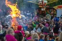 Pálení čarodejnic - Lovosice (2019, za působení v KC Lovoš)