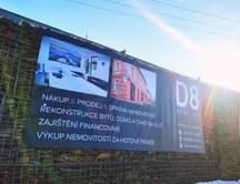Reklamní bannery pro realitní kancelář D8 Reality