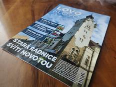 Grafika, sazba a DTP magazínu LovoSlovo