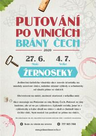 Plakáty vinařských akcí  Kam za vínem na severu