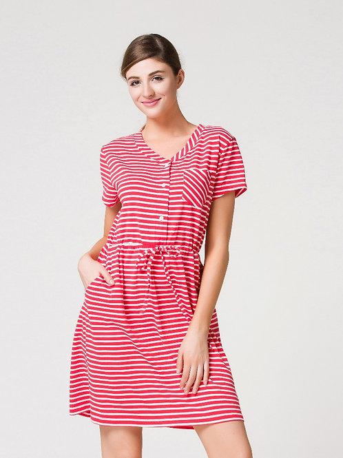 Soft Stripes One Piece 舒適間條連身裙