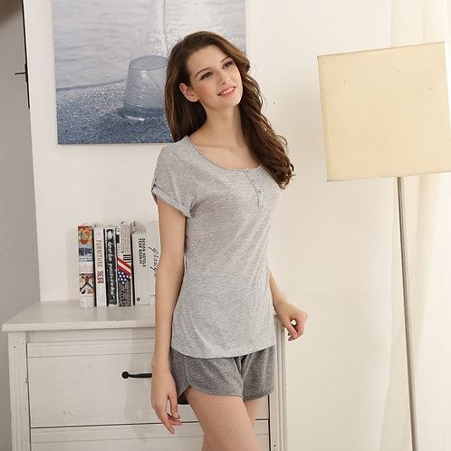 Simply Contrast lovely Pajama Set 夏日甜美家居套裝