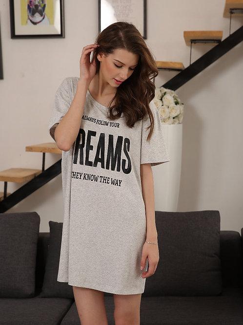 DREAMS T-shirt Dress 夢想連身裙