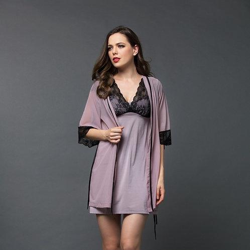 Sexy Lace Komono 性感蕾絲睡袍