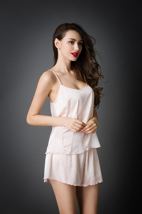 Sexy Lace Vest+Short 性感蕾絲睡衣套裝