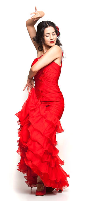 Arleen Hurtado Flamenco Dancer