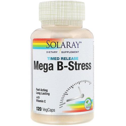Solaray Mega B-Stress Time Release 120 ct.
