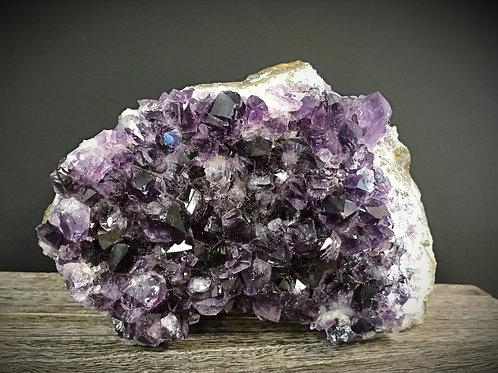 Amethyst Crystal Geode Gemstone