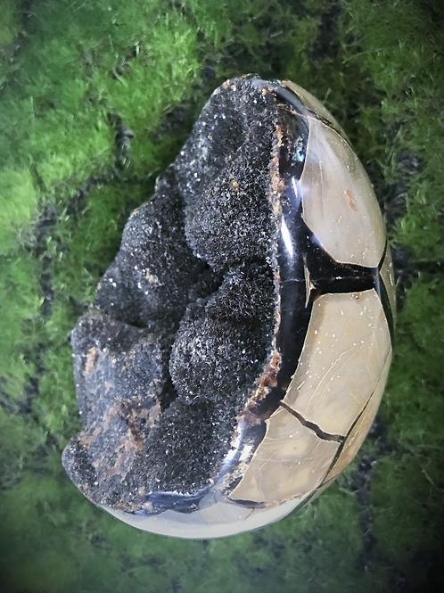 Septarian Crystal Egg