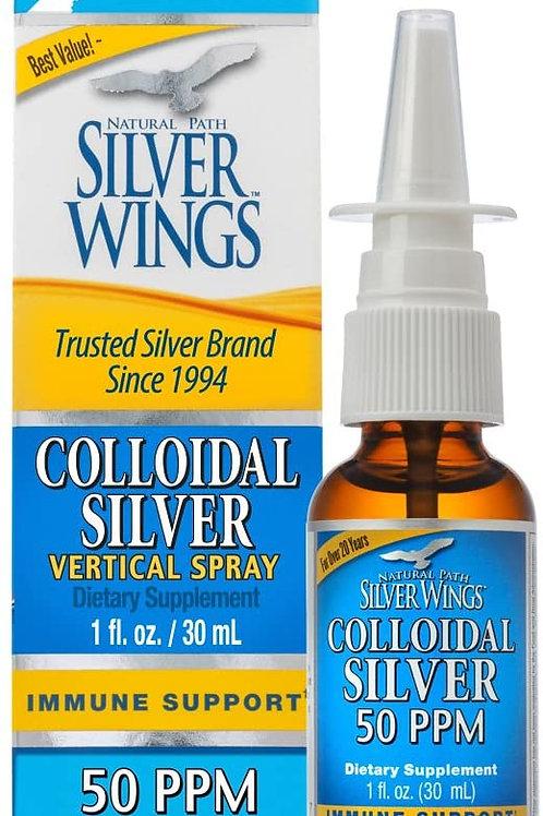 Colloidal Silver 50ppm  Vertical Spray