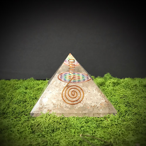 Medium Orgonite Pyramid