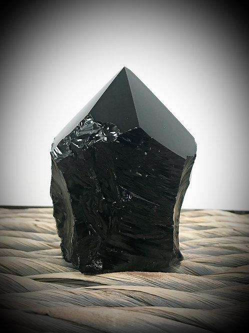 Obsidian Polished Point