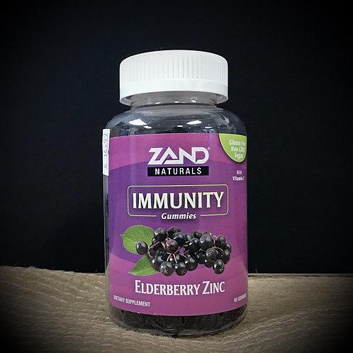 Immunity Gummies with Elderberry & Zinc - 60ct.