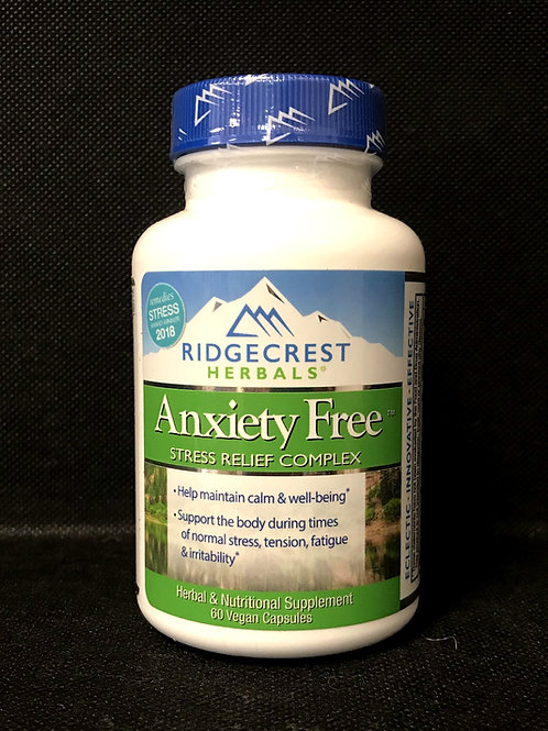 Anxiety Free by Ridgecrest Herbals