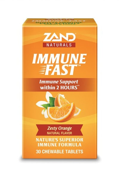 Immune Fast, Orange Flavored Chewable