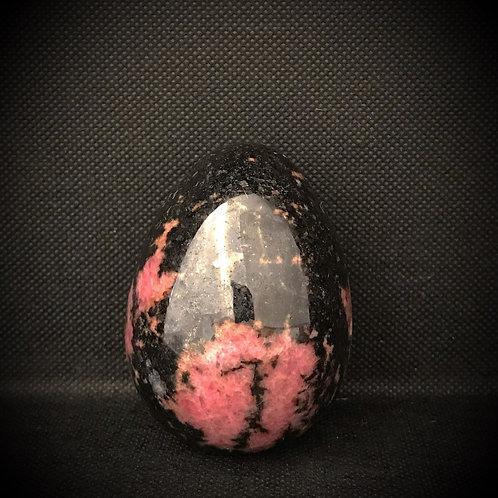 Rhodonite Gemstone Egg
