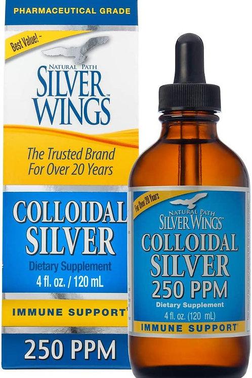 Colloidal Silver 250ppm in Dropper
