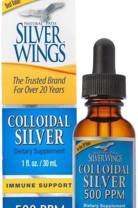 Colloidal Silver 500ppm in Dropper