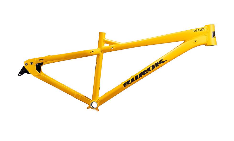 Rurok Kanlaon (Mango Yellow) Hardtail Frame