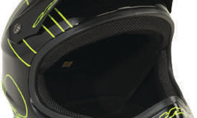 POINT5 Full Face Helmet XL Green/Black