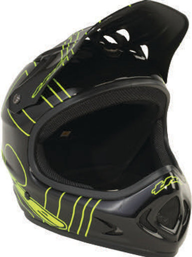 POINT5 Full Face Helmet XL Green/Black