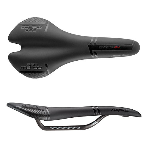 Selle Aspide Dynamic Wide Full Road Saddle