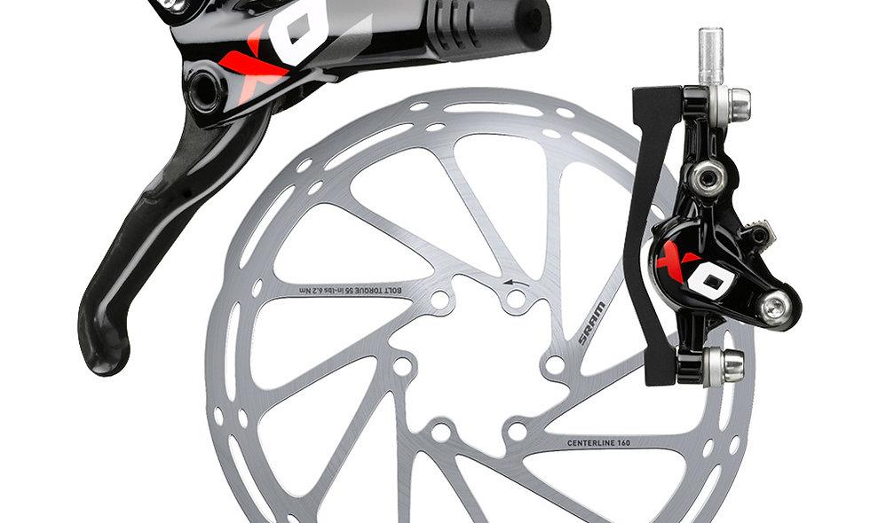 Sram XO Carbon Rear Red - No Rotor