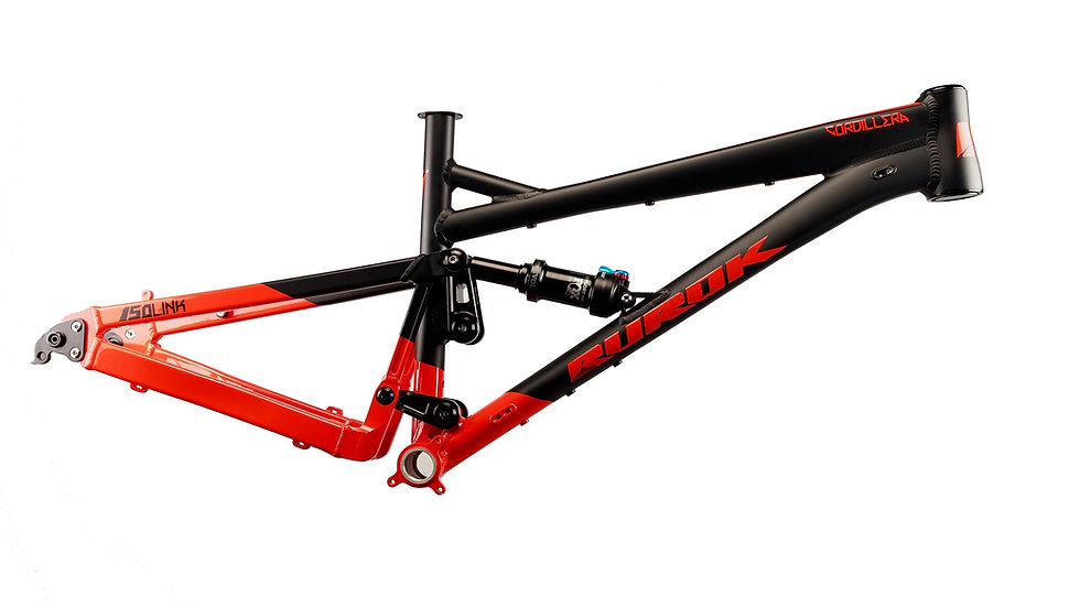 Rurok Cordillera 27.5 Frame Red/Black