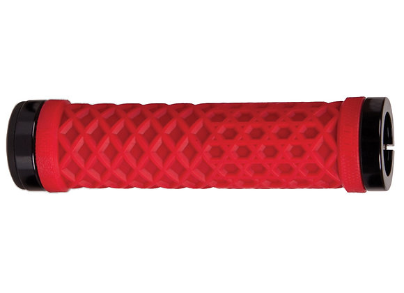 Odi Vans Lock-On Grips Red w/Black