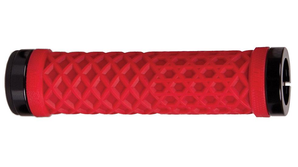 Odi Vans Lock-On Grips Red w/Black