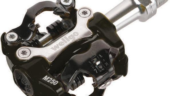 Wellgo SPD Pedal M250 2-Side Sealed Black CRMO