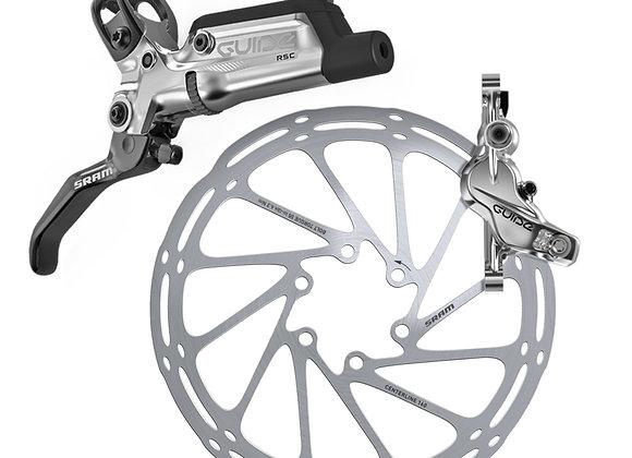 Sram Guide RSC Front Silver - No Rotor
