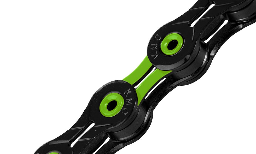 KMC Chain X10SL 10Speed DLC Black/Green