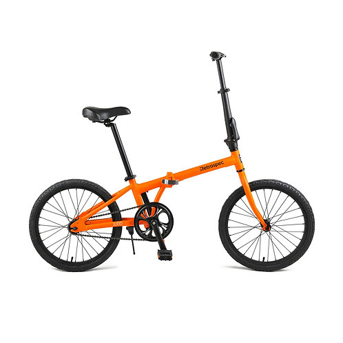 Judd Single-Speed Folding Bike with Coaster Brake