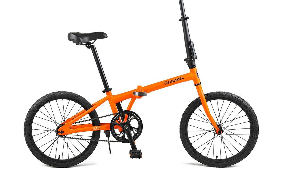 Judd Single-Speed Folding Bike with Coaster Brake