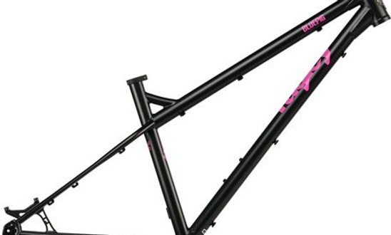 Ragley Blue Pig - Charcoal Pink Frame