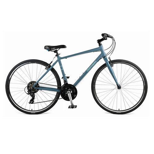 Atlas Comfort Hybrid Fitness Bike, 21-Speed