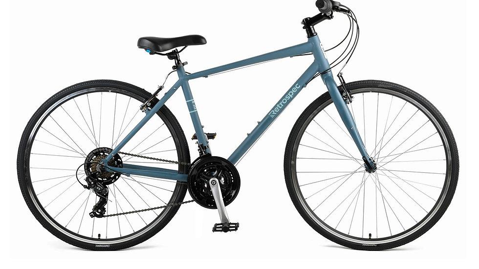 Atlas Comfort Hybrid Fitness Bike, 21-Speed
