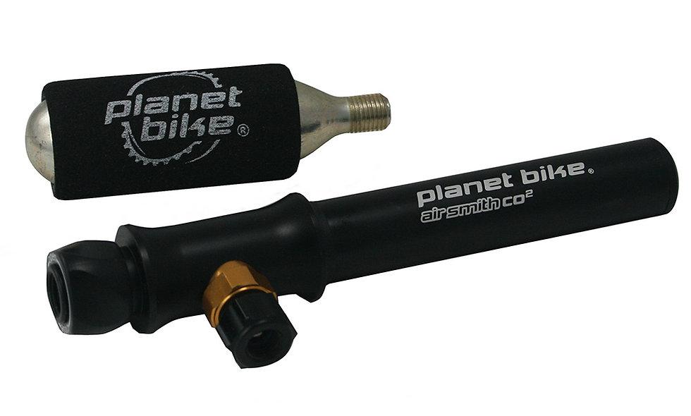 Planet Bike Pump Airsmith Plus CO2 16G