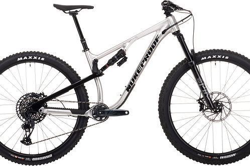 2021 Nukeproof Reactor290 Pro - Brushed Alloy