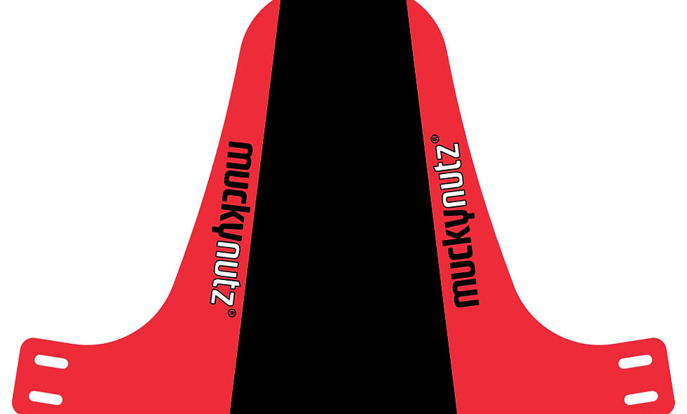 Mucky Nutz Face Fender Black/Red