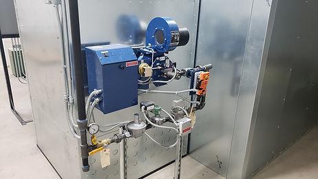 Powder coating equipment at TEC