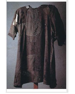 フランシスコの修道服.JPG