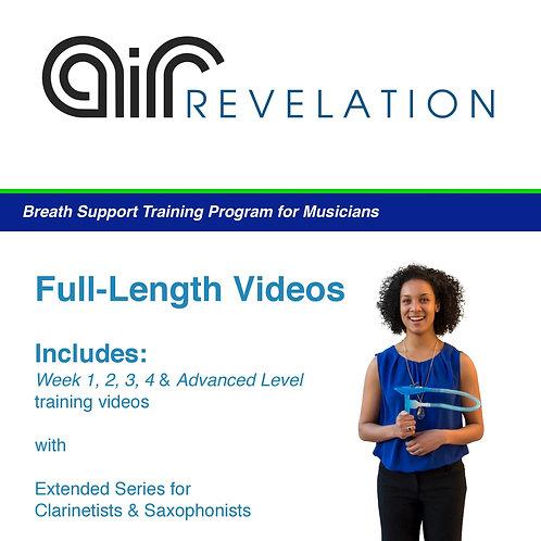 Full-length Instructional Videos