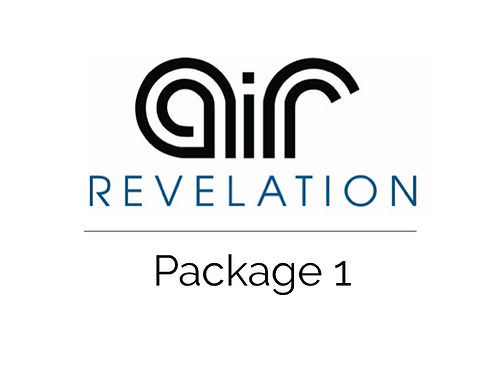 Package 1 - Air Revelation Instructional Lessons (with free spiromter)
