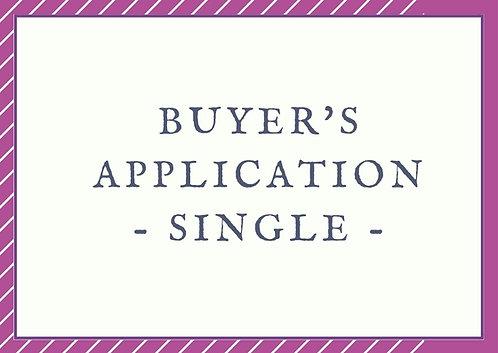 Buyer's Application