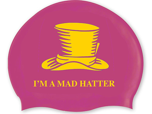 I'M A MAD HATTER Swim Hat
