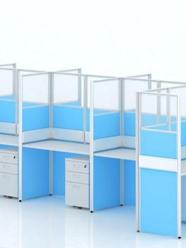 High Divider Workstations